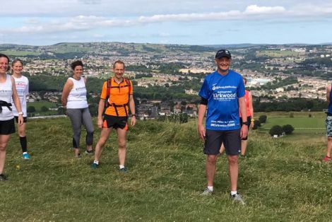 Andy reaches the summit in 5,000 mile challenge